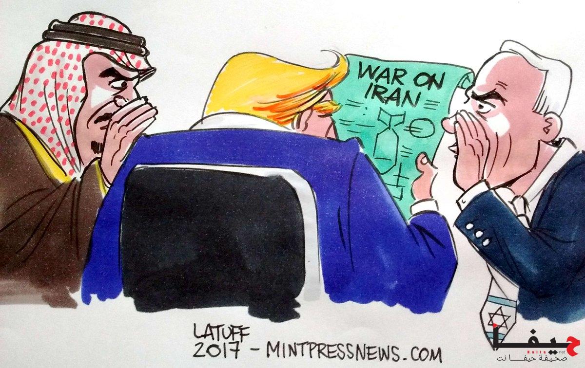 CPI Trump Iran - latuff