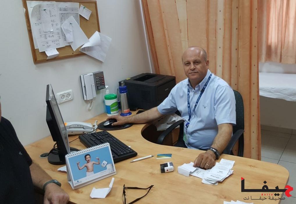 דר אבו ריא פואד - מומחה ברפואת עור במהלך שבוע מודעות העור בכללית