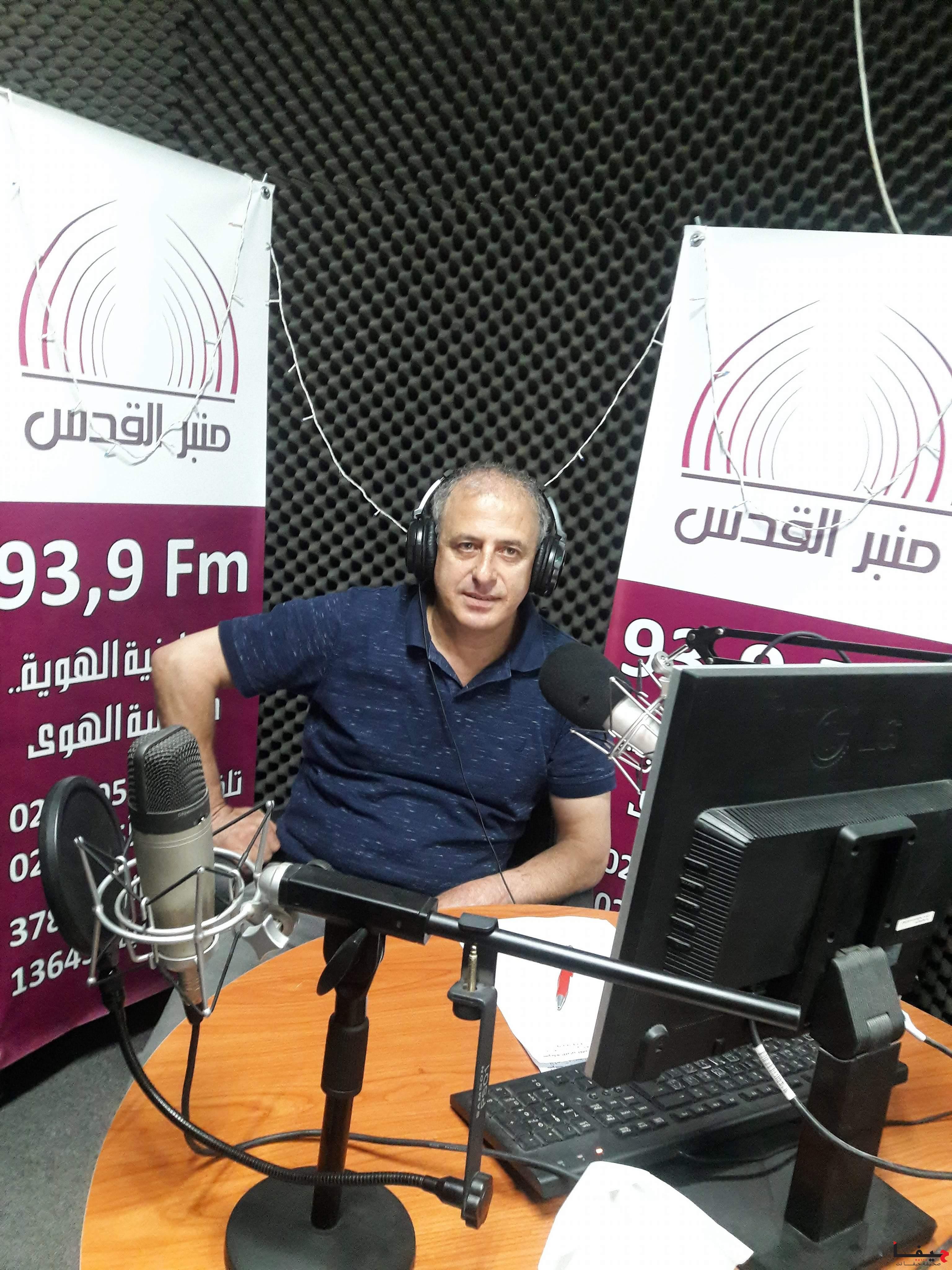 عفيف شليوط في لقاء خاص مع إذاعة منبر القدس