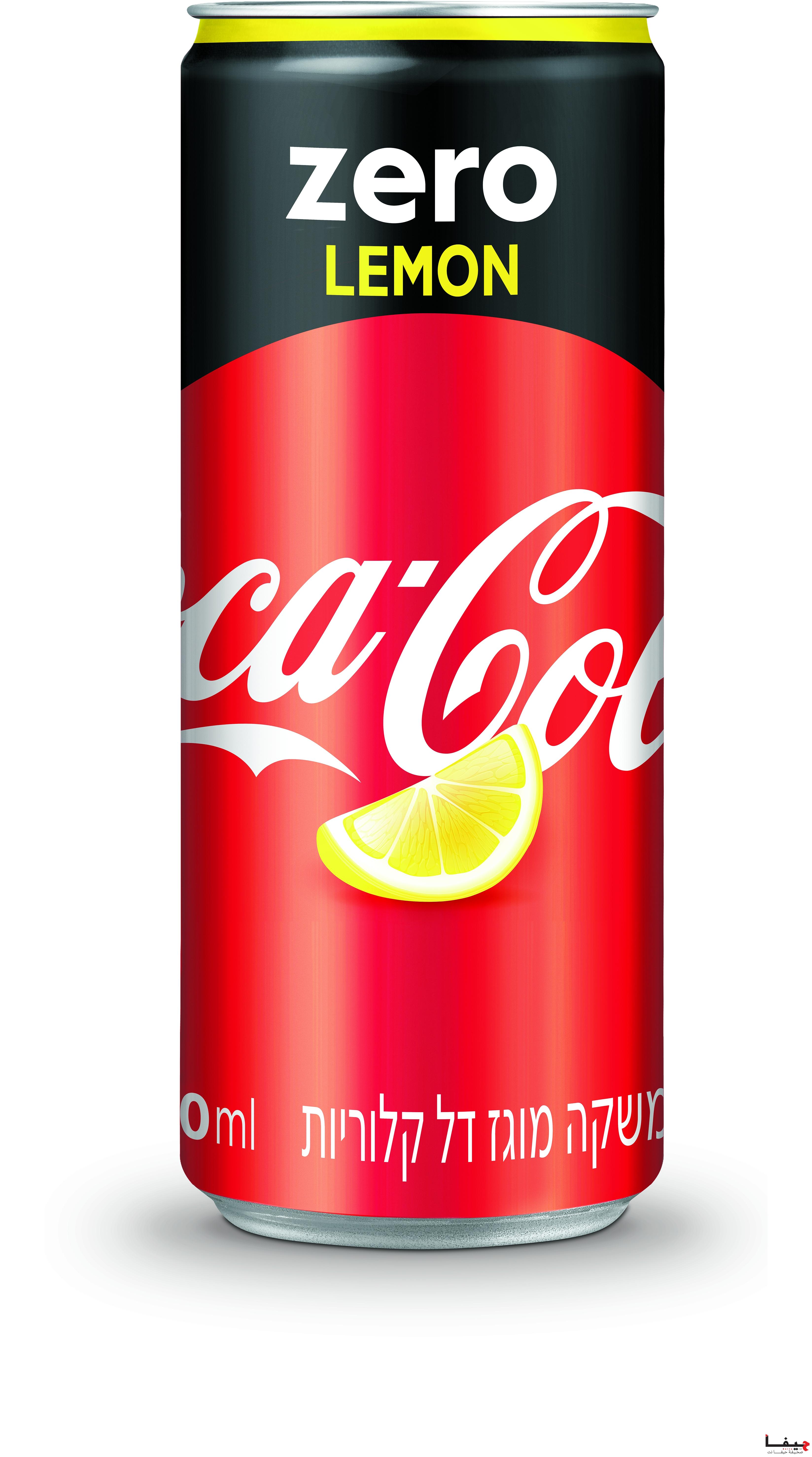 كوكا -كولا تعرض Coca-Cola ZERO Lemon