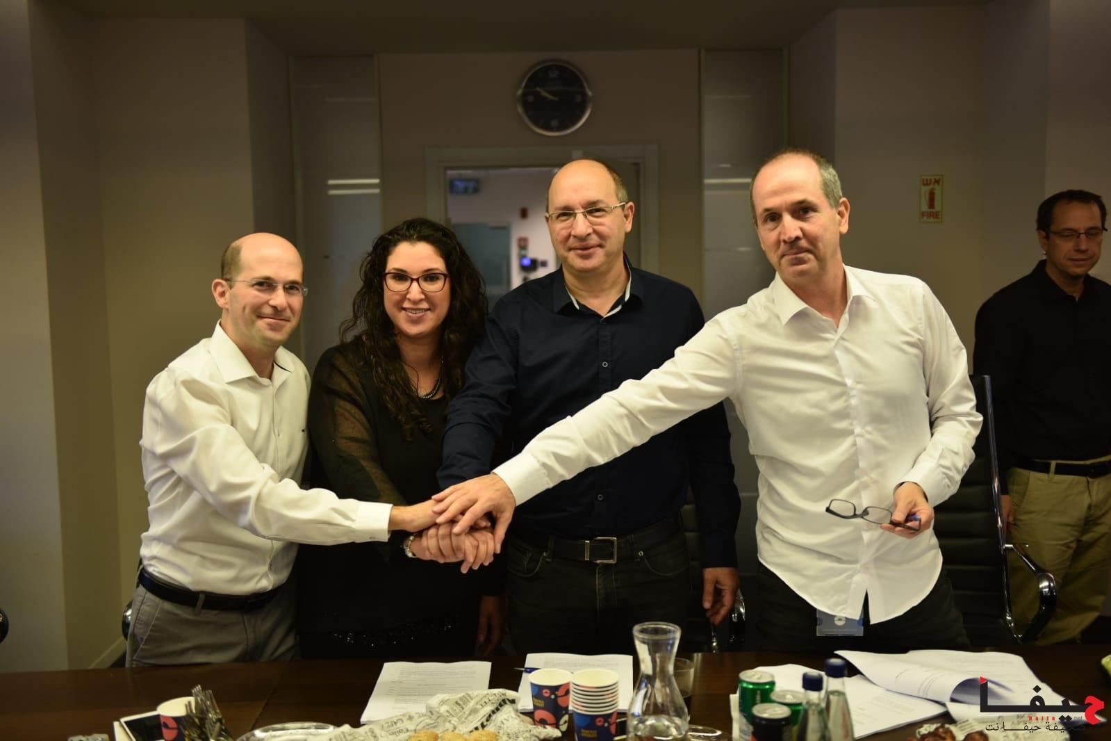 נחתם הסכם קיבוצי חדש בחברת לאומי קארד1