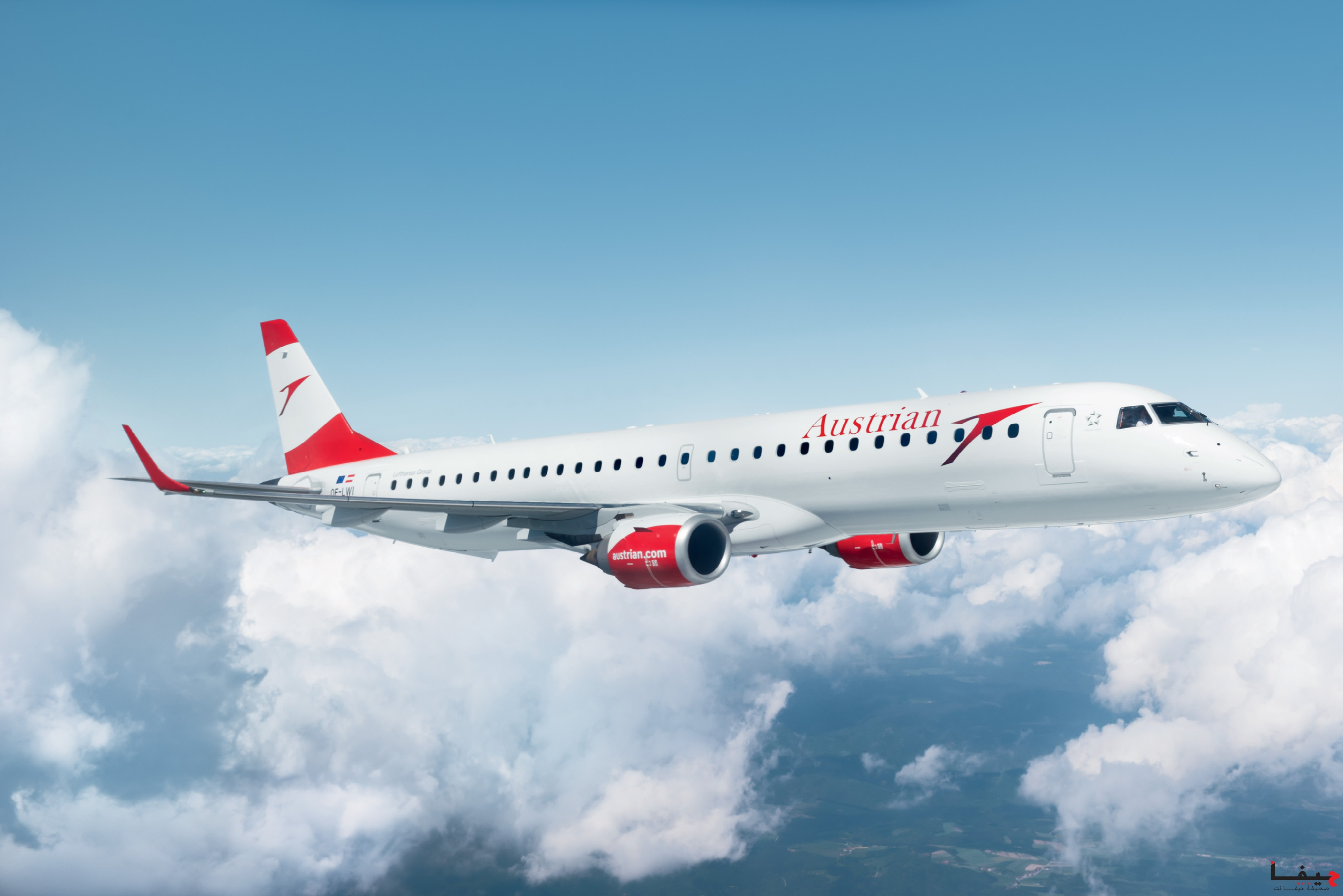 030 - Austrian Embraer Jet