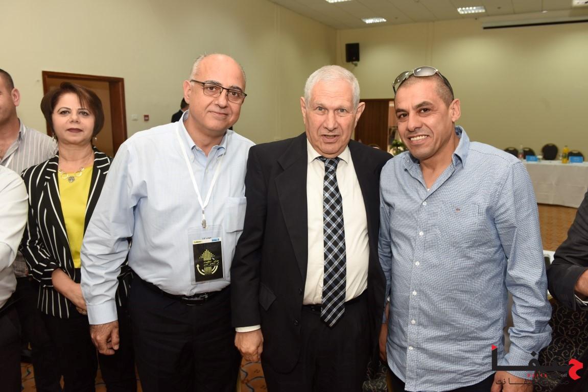 إدارة لئومي وكبار الموظفين في لئومي يلتقون مع أصحاب مصالح تجارية من المجتمع العربي (5)
