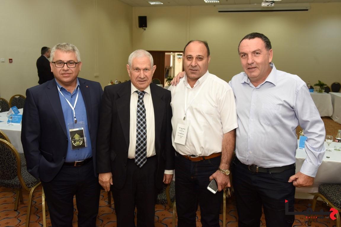 إدارة لئومي وكبار الموظفين في لئومي يلتقون مع أصحاب مصالح تجارية من المجتمع العربي (7)